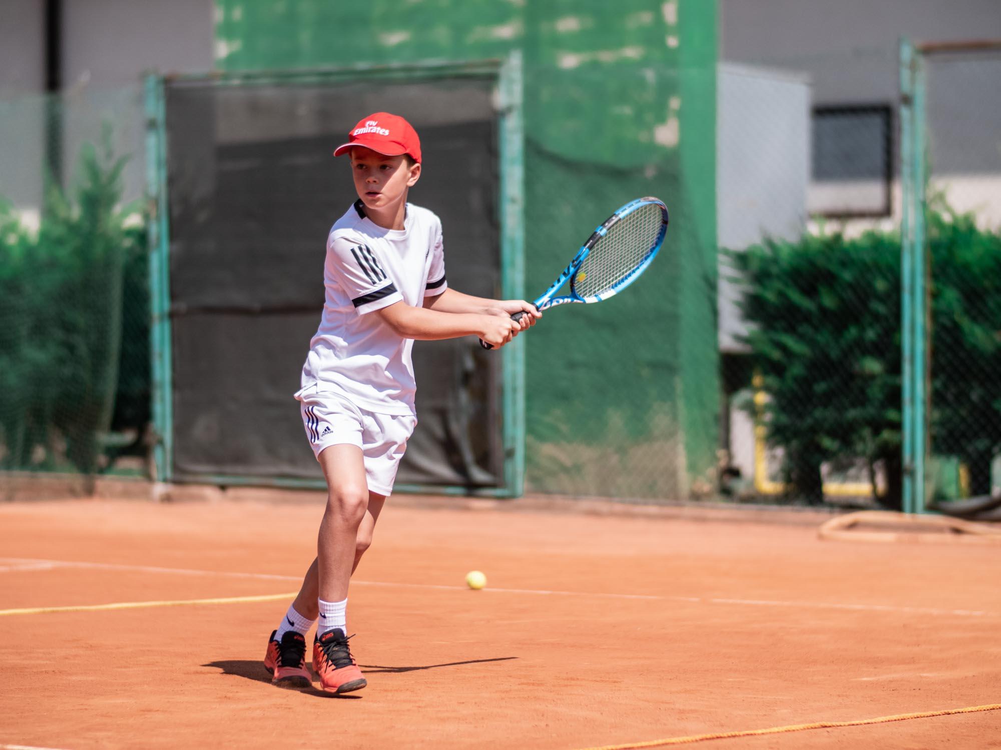 Daniel Panajotti tennis allenamento