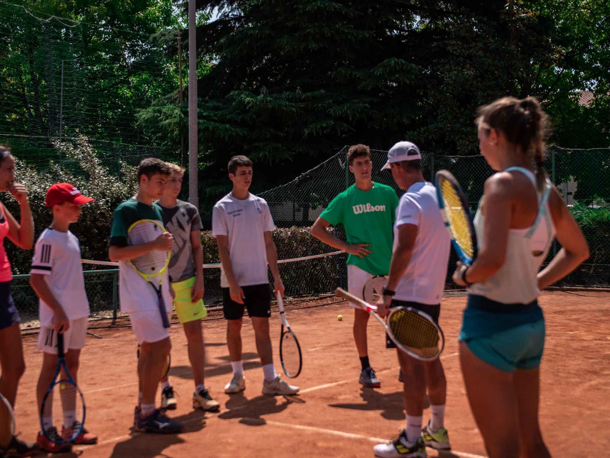 Daniel Panajotti Accademia tennis