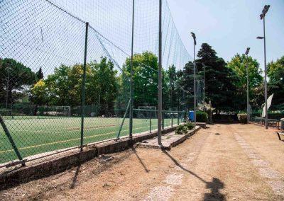 Daniel Panajotti campo tennis