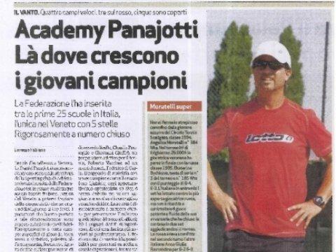 Tennis Academy Panajotti: Top School 5 Stelle