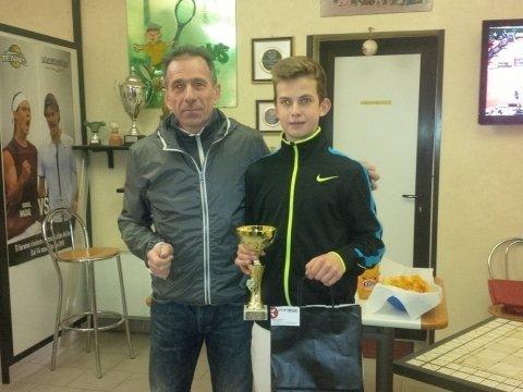 Torneo U14 Sandrigo (VI) Doru Borsan vince 1° titolo in Italia