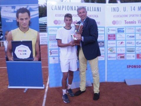 Andrea Fiorentini vince i Campionati Italiani U14