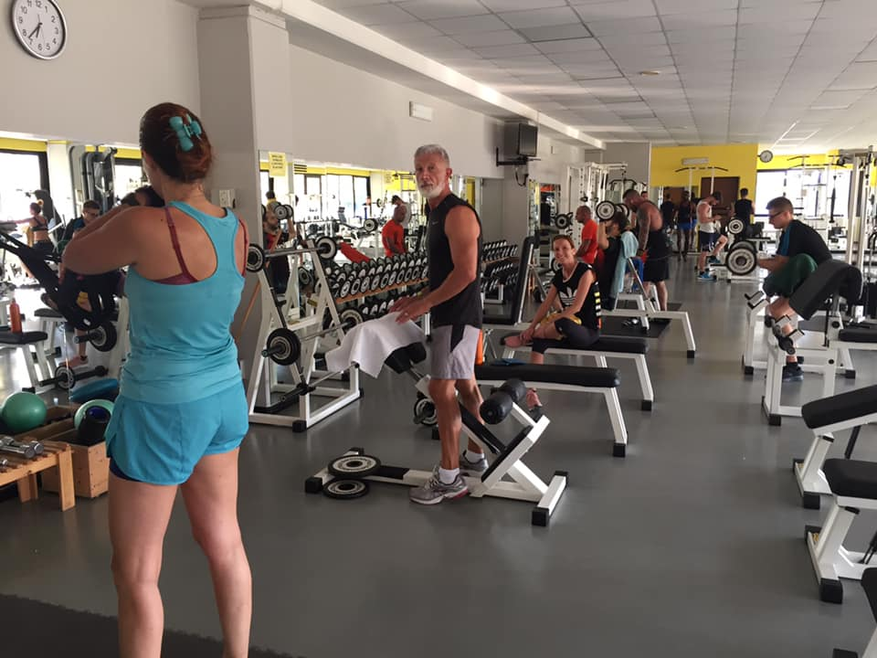palestra athleta sala attrezzia