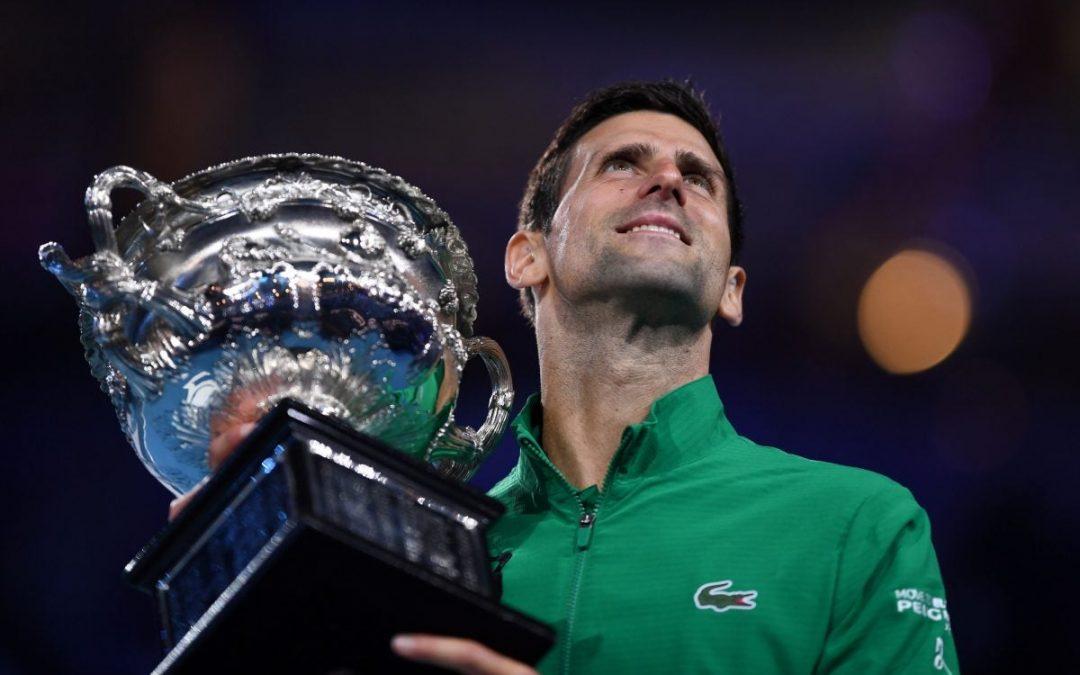 Novak djokovic vince gli Australian Open 2020