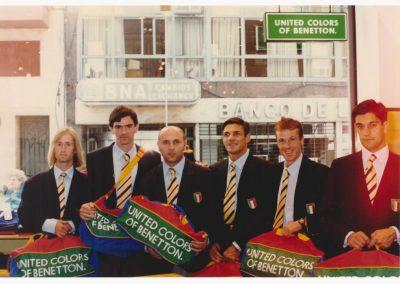 Lo sponsor Benetton