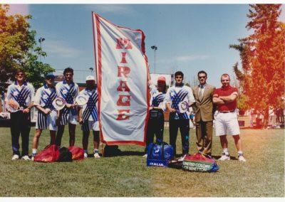 Squadra Italiana con lo sponsor Mirage